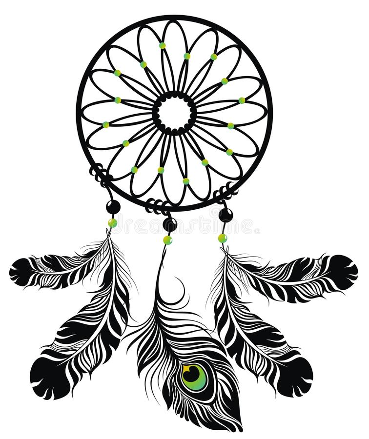 Dream Catcher stock illustration