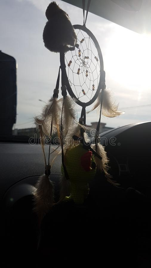 Dream Catcher with the Sun royalty free stock image