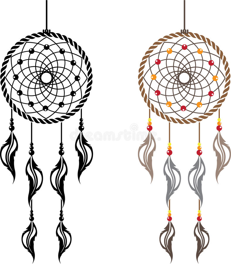 dream catcher vector stock vector illustration of decoration 49277384 rh dreamstime com cute dream catcher clipart dreamcatcher clip art free
