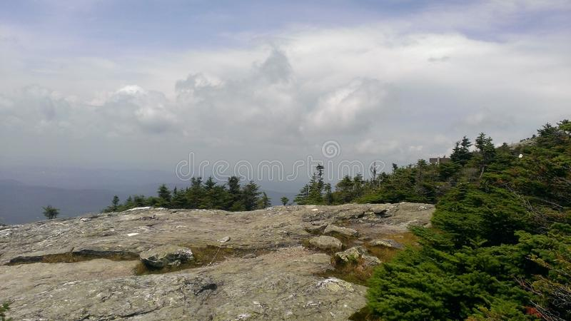 Dream Clouds of Vermont stock image