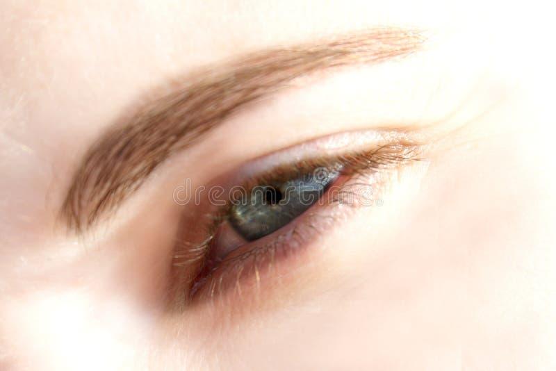 Dream eye stock photo