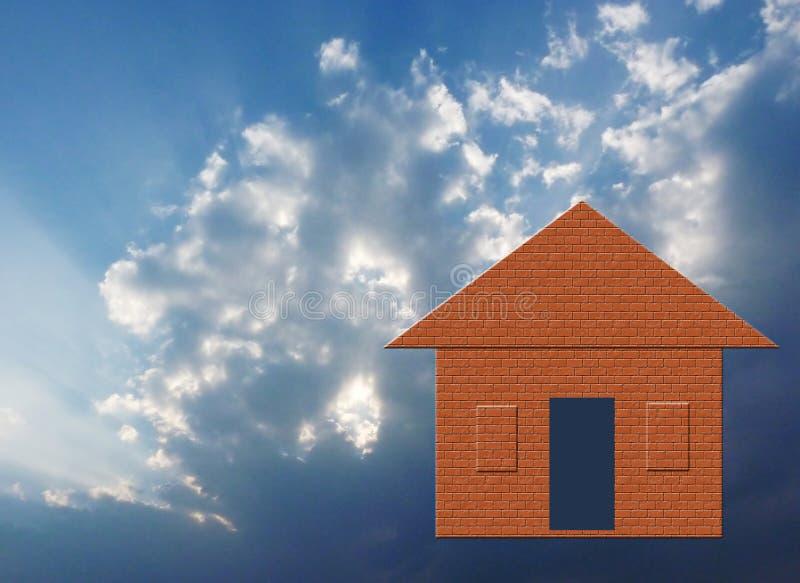 Download Dream home stock illustration. Image of illustration - 13231544