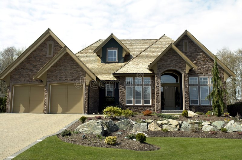 Dream Home stock image