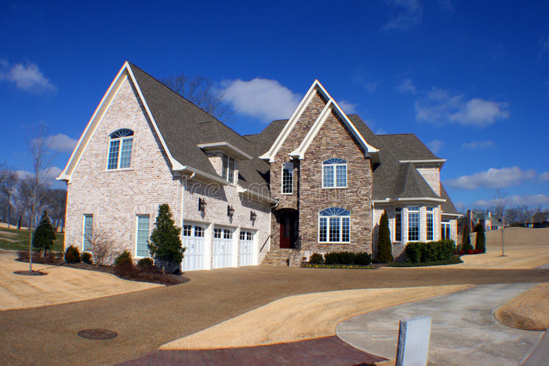 Download Dream home fisheye stock photo. Image of build, mortgage - 4116864