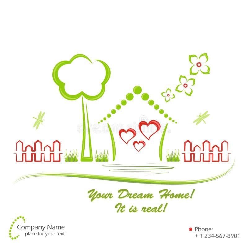 Download Dream Home, Vector Illustration Stock Vector - Illustration: 20712387