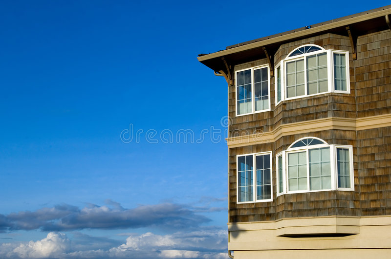 Dream house stock photos