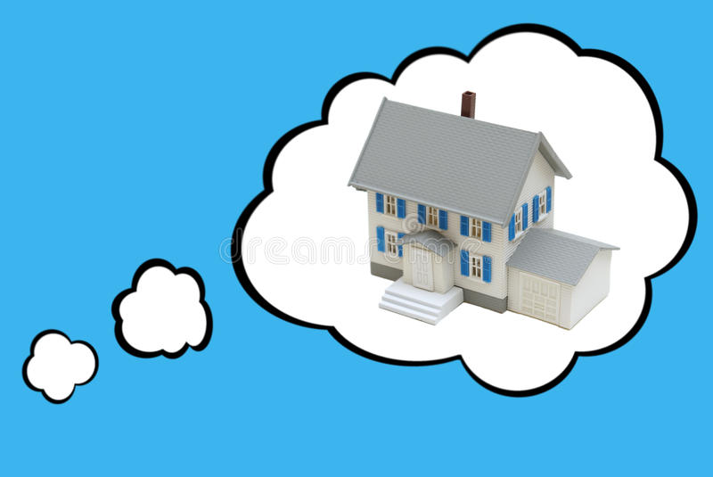 Dream House Concept royalty free stock photography
