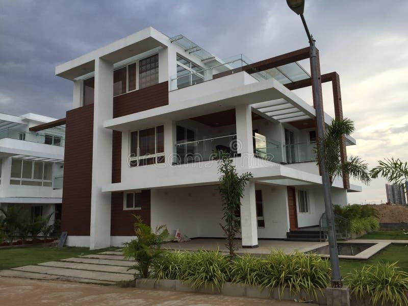 Dream house and villa royalty free stock photos