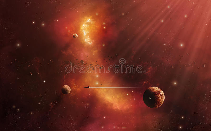 Dream Journey Royalty Free Stock Image