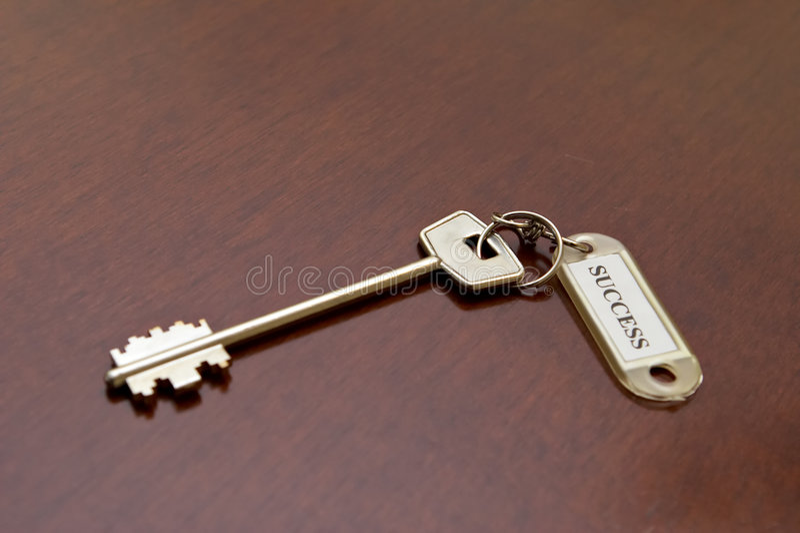 Dream key stock photo