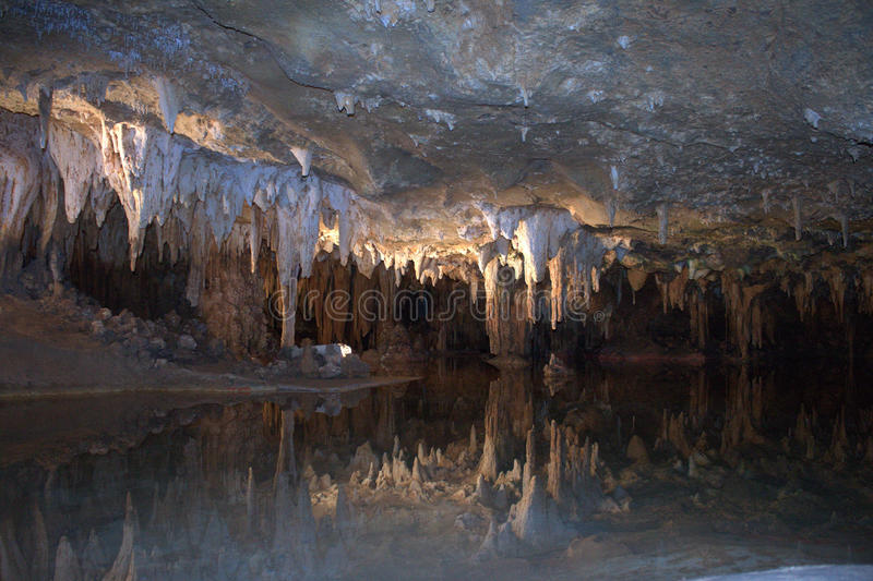 Dream lake Luray Caverns Shenandoah royalty free stock images