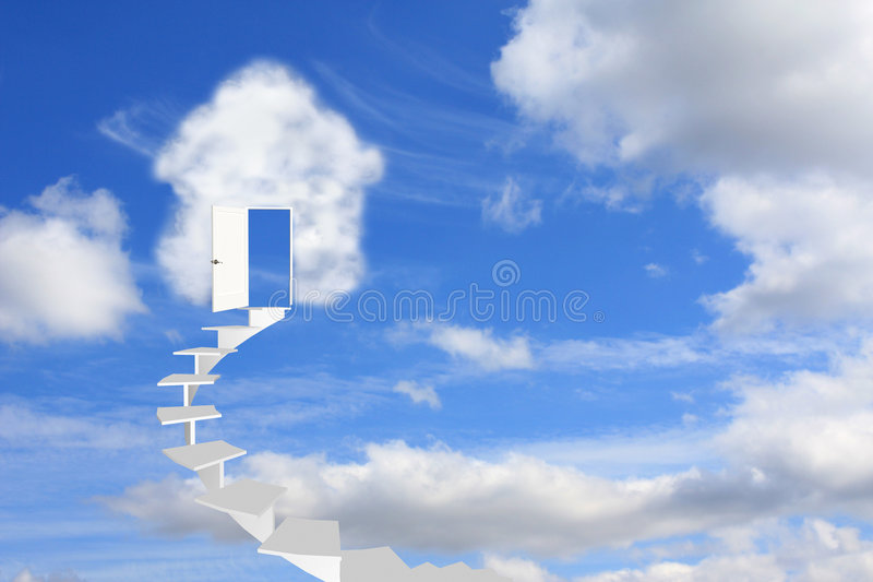 Download Dream of own house stock image. Image of enter, cloudscape - 6679223