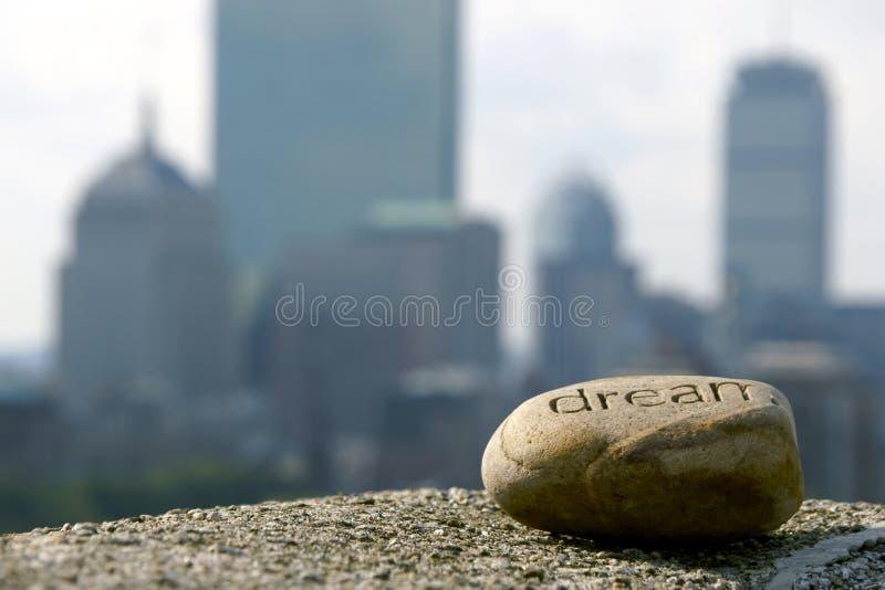 Download Dream of success stock image. Image of rock, achieve, scrapers - 3516811