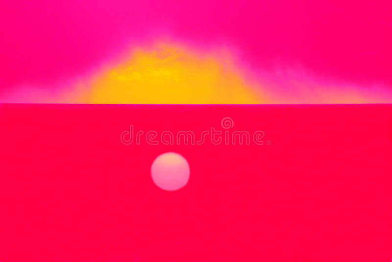 Dream of Sun stock image