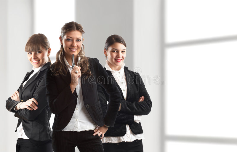 Download Dream Team stock photo. Image of arms, male, female, boss - 2071472