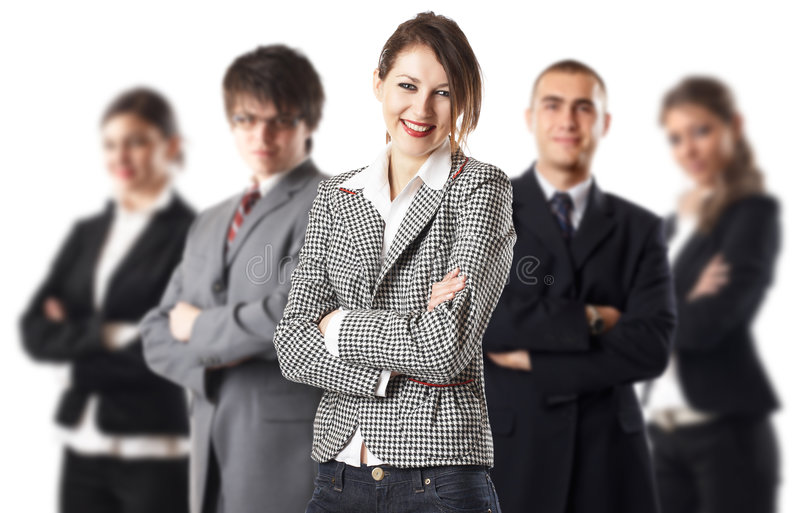 Download Dream Team stock photo. Image of handsome, businesspeople - 2207310