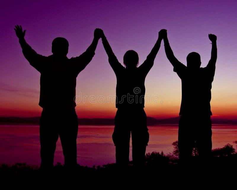 Download Dream Team stock image. Image of sunset, male, work, vegetarian - 402299