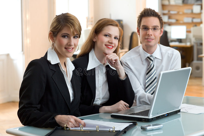 Dream team for success royalty free stock image