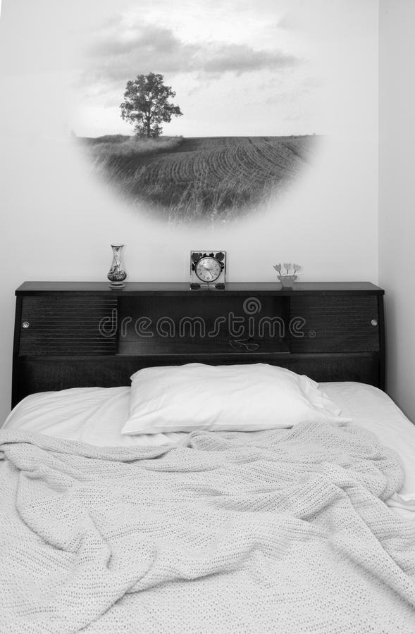 Dream Time (Black and White) stock images