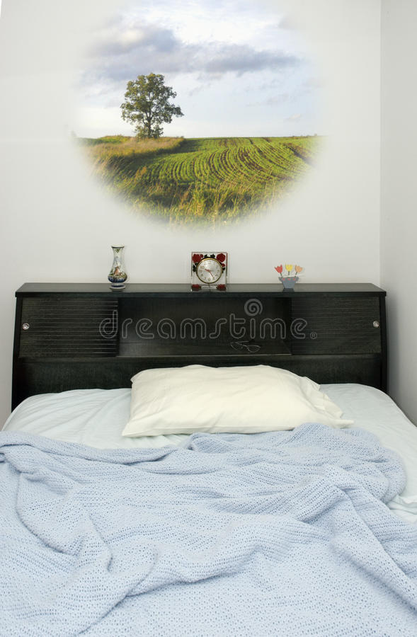 Download Dreams While Sleeping In Bed, Dreaming Stock Image - Image: 9370611