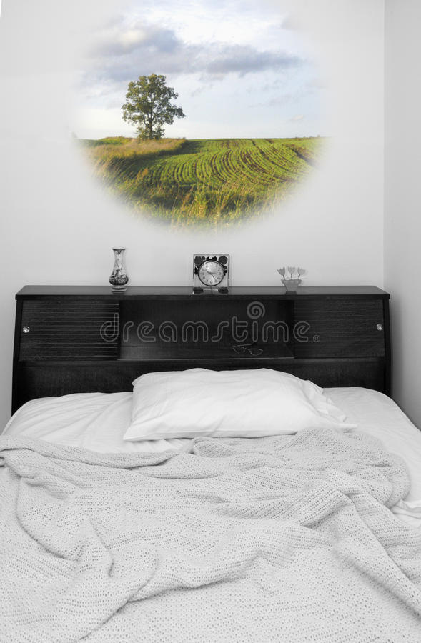 Dream Time (Mixed, Color and Black and White) royalty free stock images