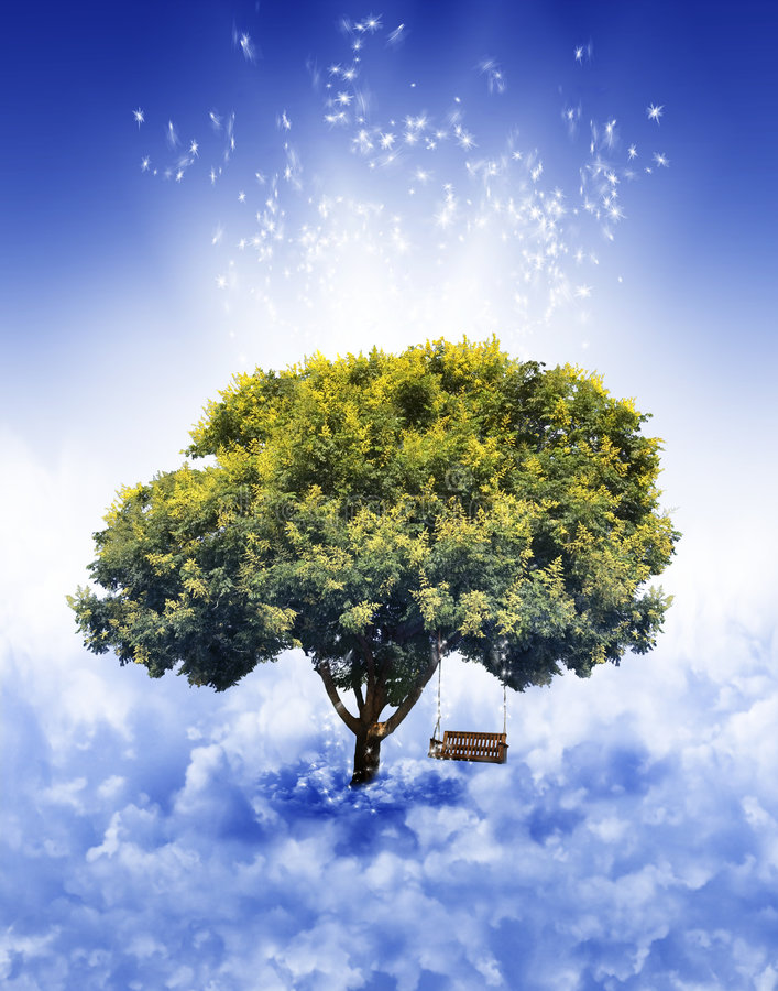 Dream Tree stock photos
