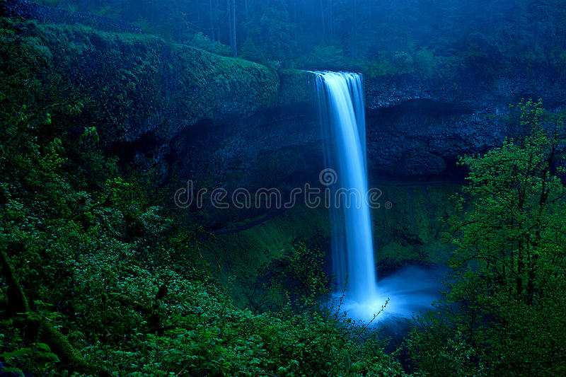Dream Waterfall royalty free stock photos