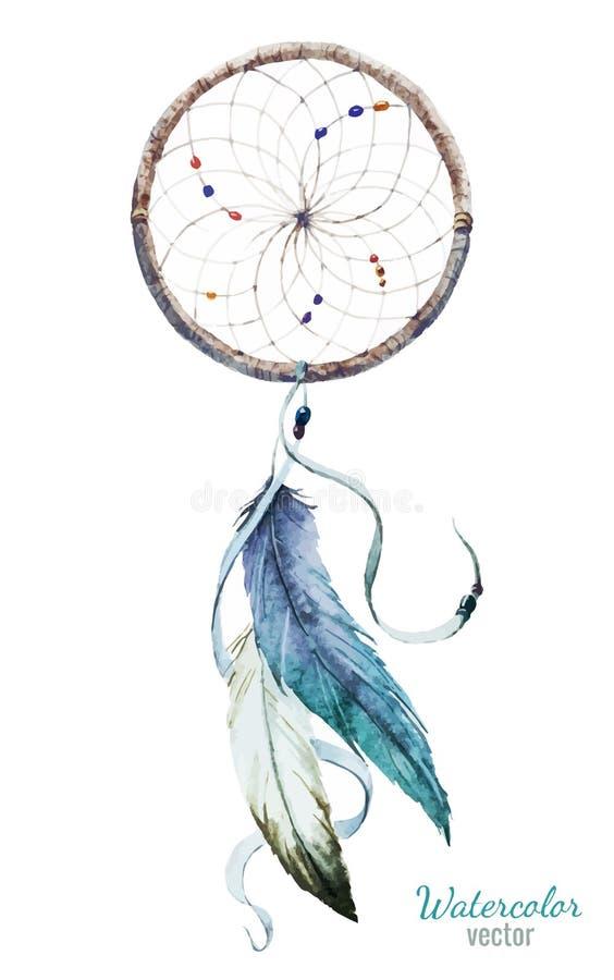 Dreamcatcher illustration stock