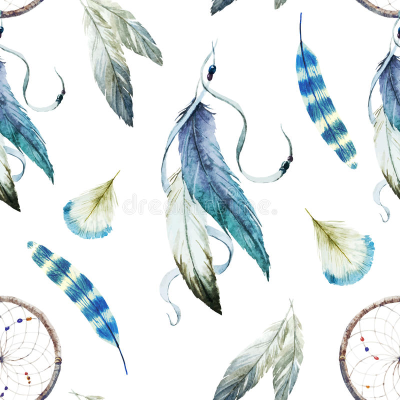 Dreamcatcher stock illustratie