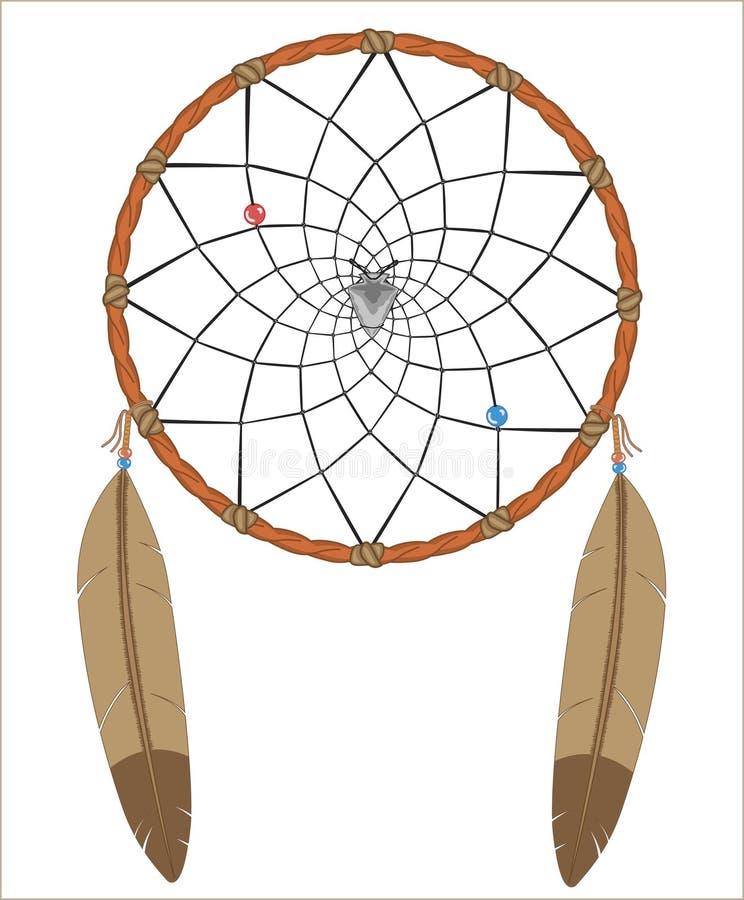 dreamcatcher иллюстрация вектора
