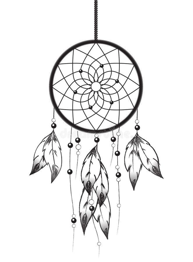Dreamcatcher stock illustration