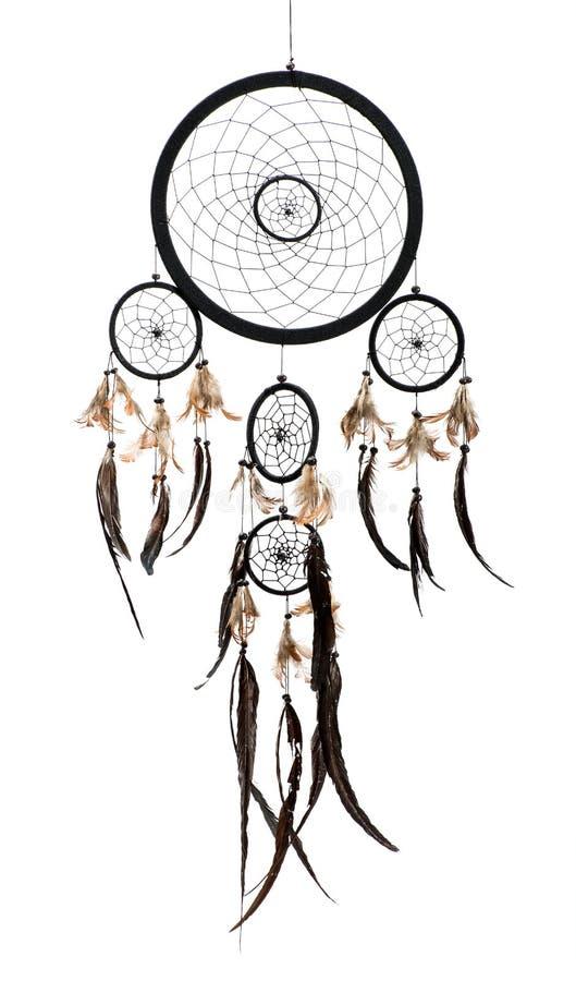 Dreamcatcher do indiano do nativo americano imagem de stock