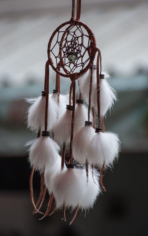 Dreamcatcher hängning, arkivbild