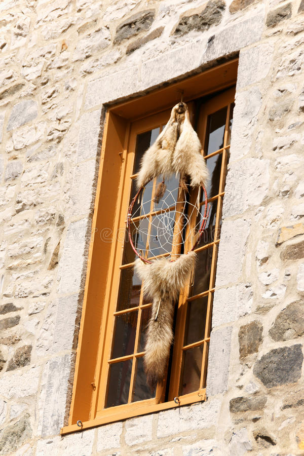 Dreamcatcher i Quebec City, Kanada royaltyfri foto
