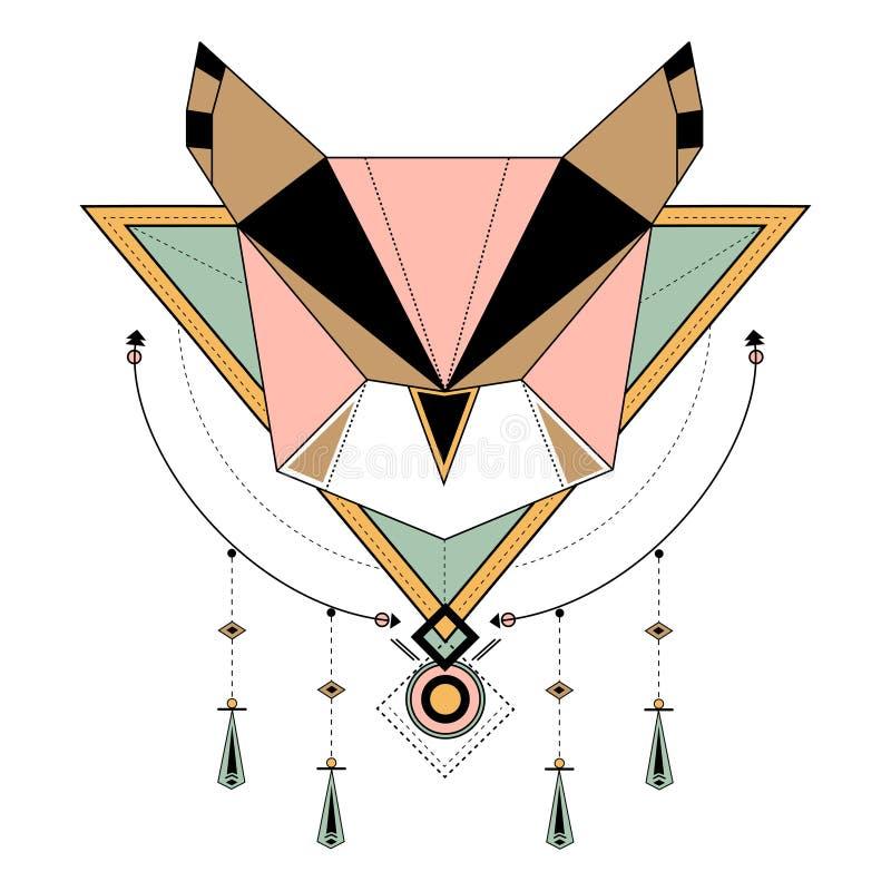 Dreamcatcher utformade vektorer på bakgrund vektor illustrationer