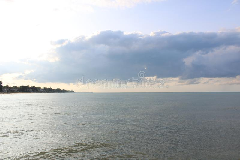 Dreamful jezioro obrazy royalty free