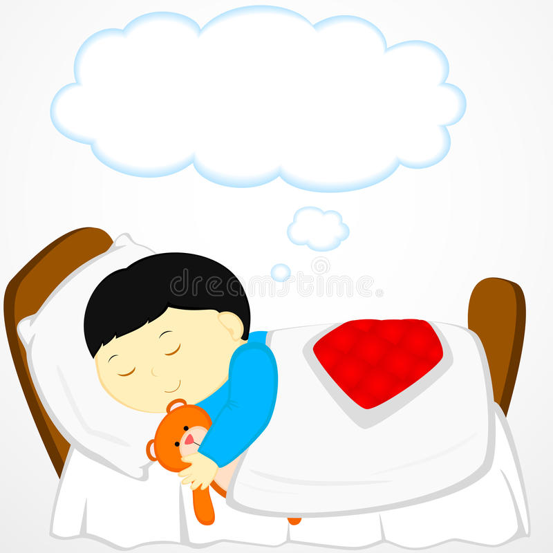 Download Dreaming stock vector. Image of sleeping, illustration - 29146142