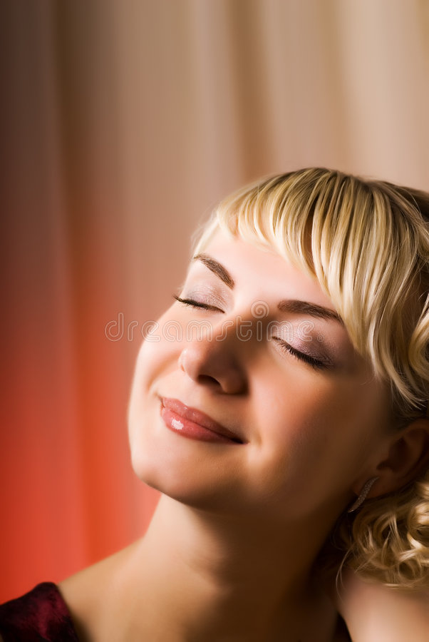Free Dreaming Girl Stock Photography - 4379372