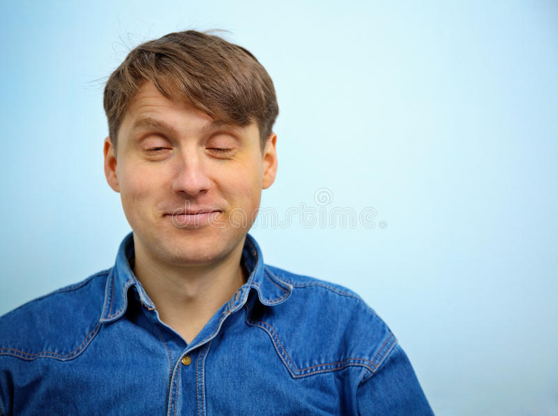 Dreaming Happy Man Stock Image