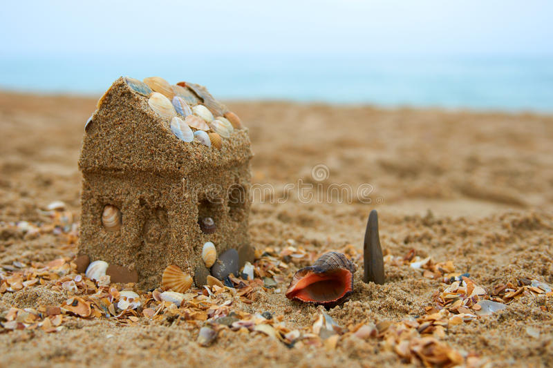 Download Dreaming About A House On The Seashore Stock Photo - Image: 20378598
