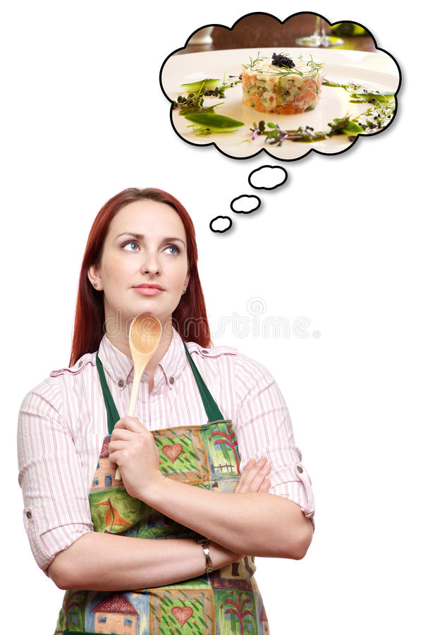 Dreaming of a special dinner meal stock photos