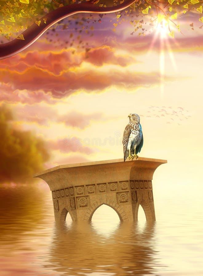 Download Dreamland stock illustration. Illustration of fantastic - 12969262