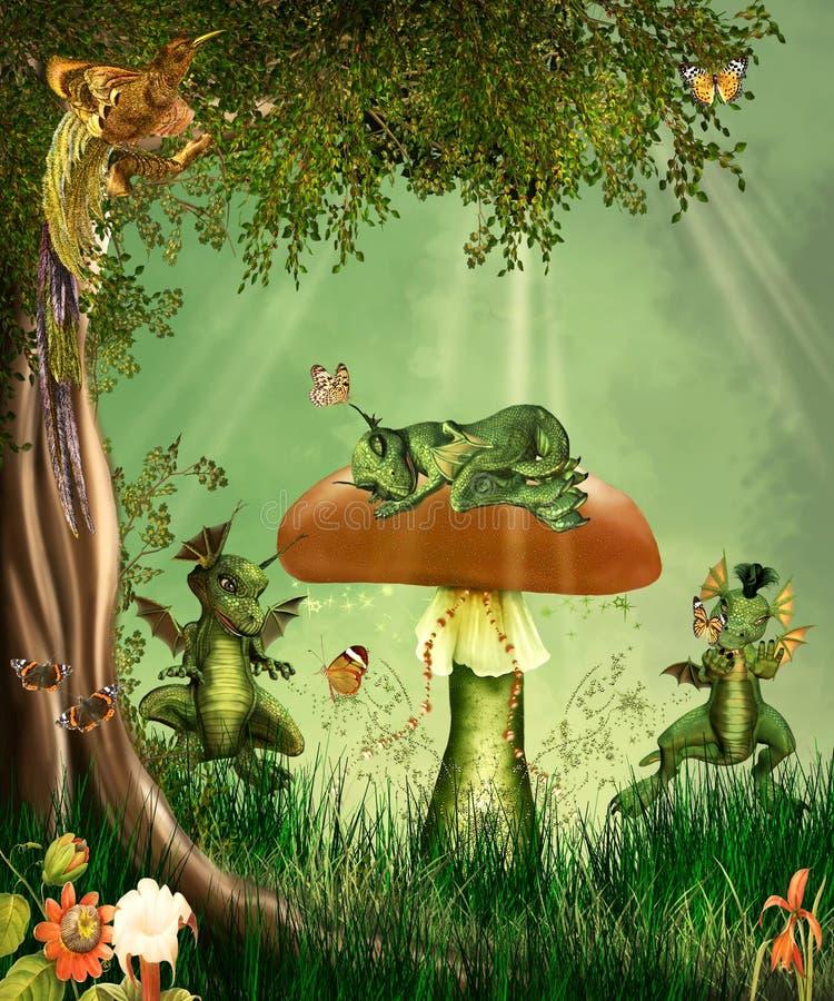 Dreamland illustrazione di stock