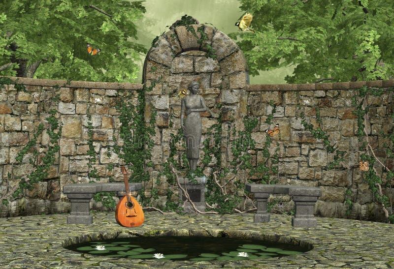 Dreamland ilustração royalty free