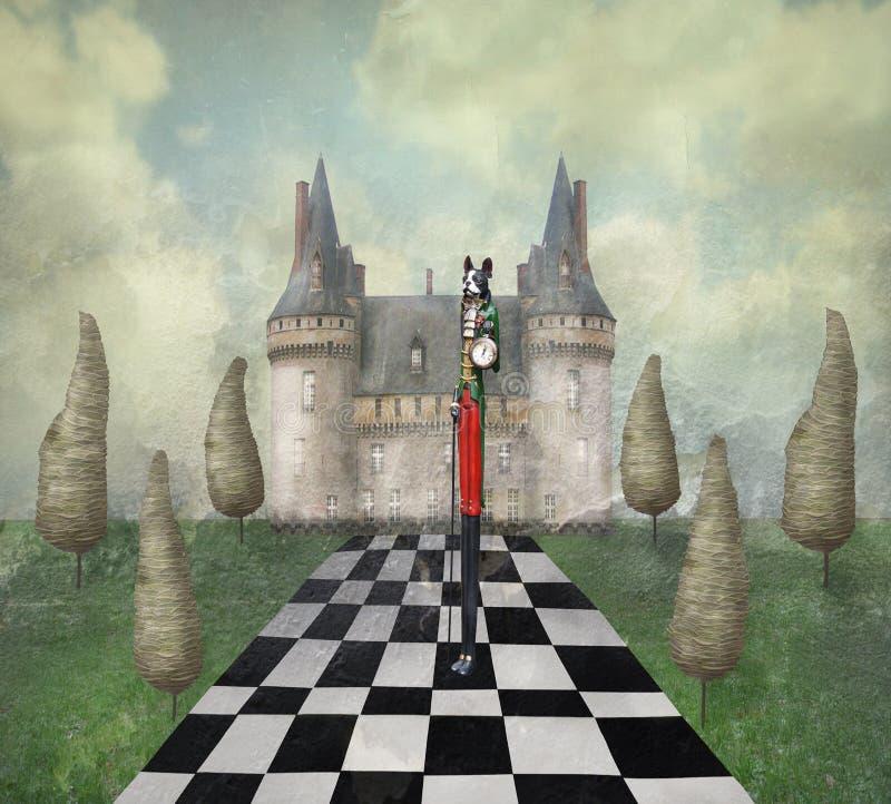 Dreamland stock de ilustración