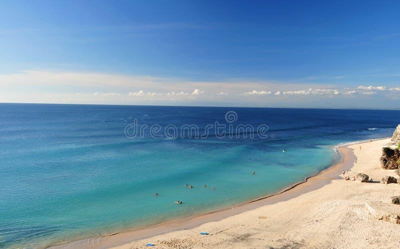 Dreamland beach Bali, Indonesia stock image