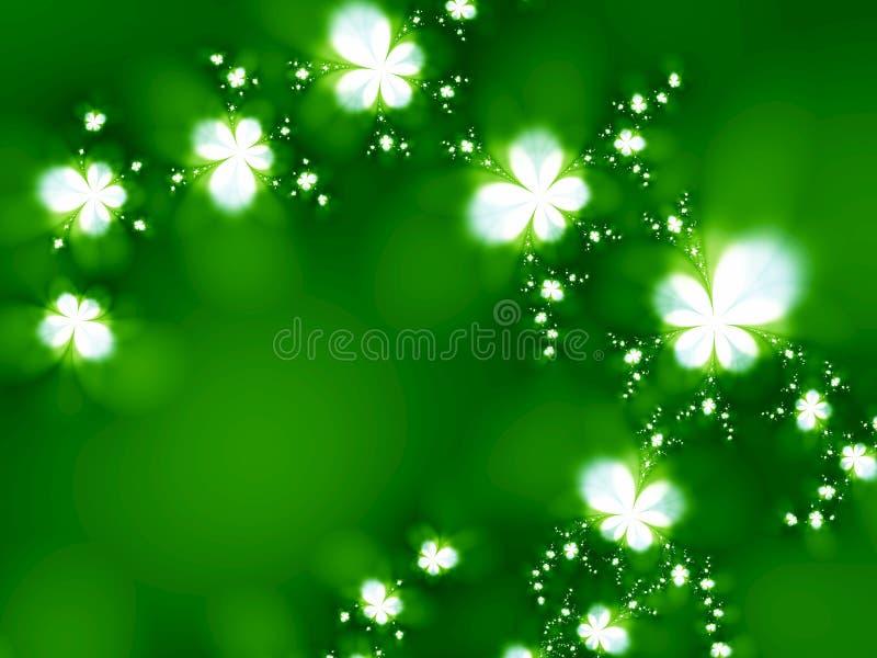 Dreamlike flowers vector illustration