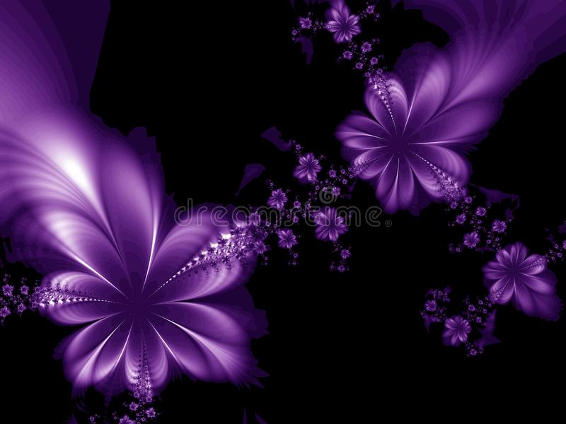 Dreamlike flowers royalty free stock image