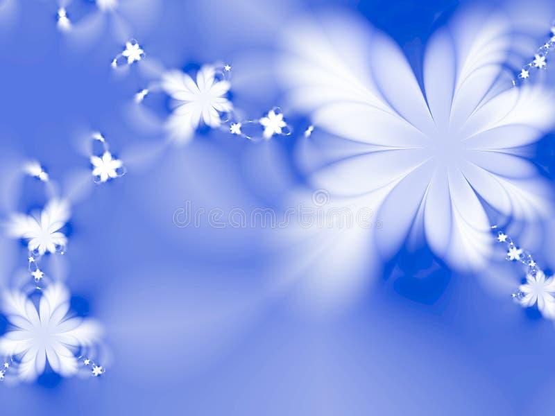 Dreamlike flowers royalty free illustration
