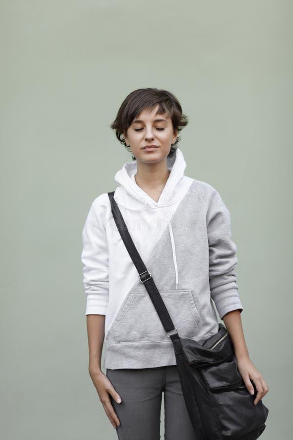Download Dreams stock image. Image of female, caucasian, contemplation - 18813719